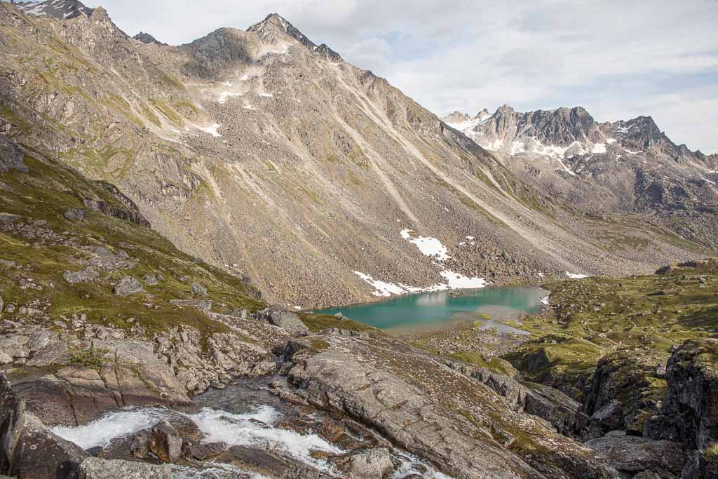 Lower Reed Lake, Reed Lakes, Reed Lakes Hike, Reed Lakes Alaska, Hatcher Pass, Alaska
