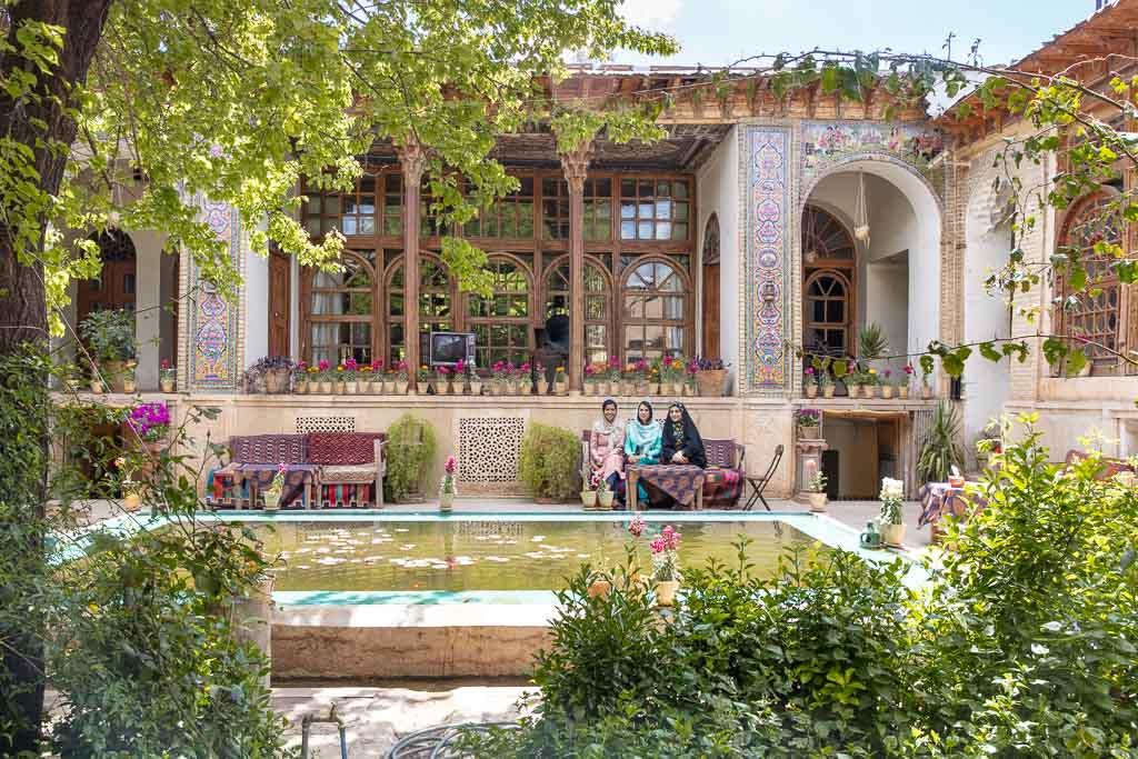 Manteghi Nezhad Historical House, Shiraz, Iran, Manteghi Nezhad Shiraz, Manteghi Nezhad House, Historical houses Shiraz