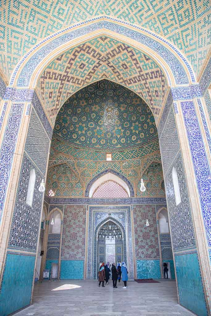 Jameh Mosque, Masjid Jomeh, Masjid Jomeh Yazd, Jameh Mosque Yazd, mosque, Yazd, Old City, Yazd Old City, Iran, Middle East, Persia