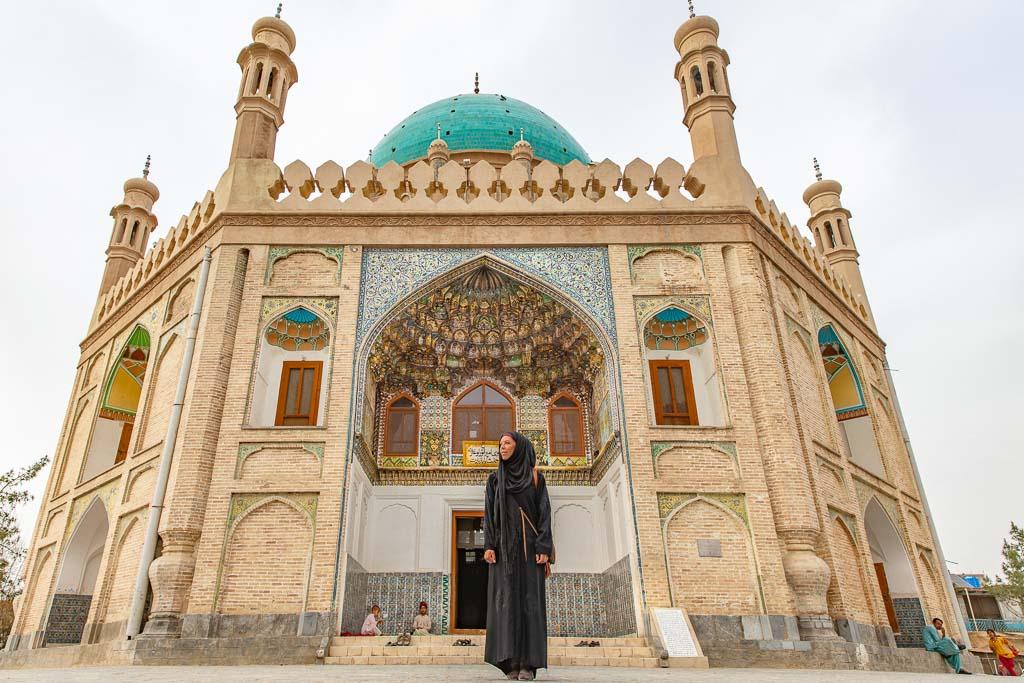 Ahmad Shah Durrani, Ahmad Shah Durrani Shrine, Kandahar, Afghanistan