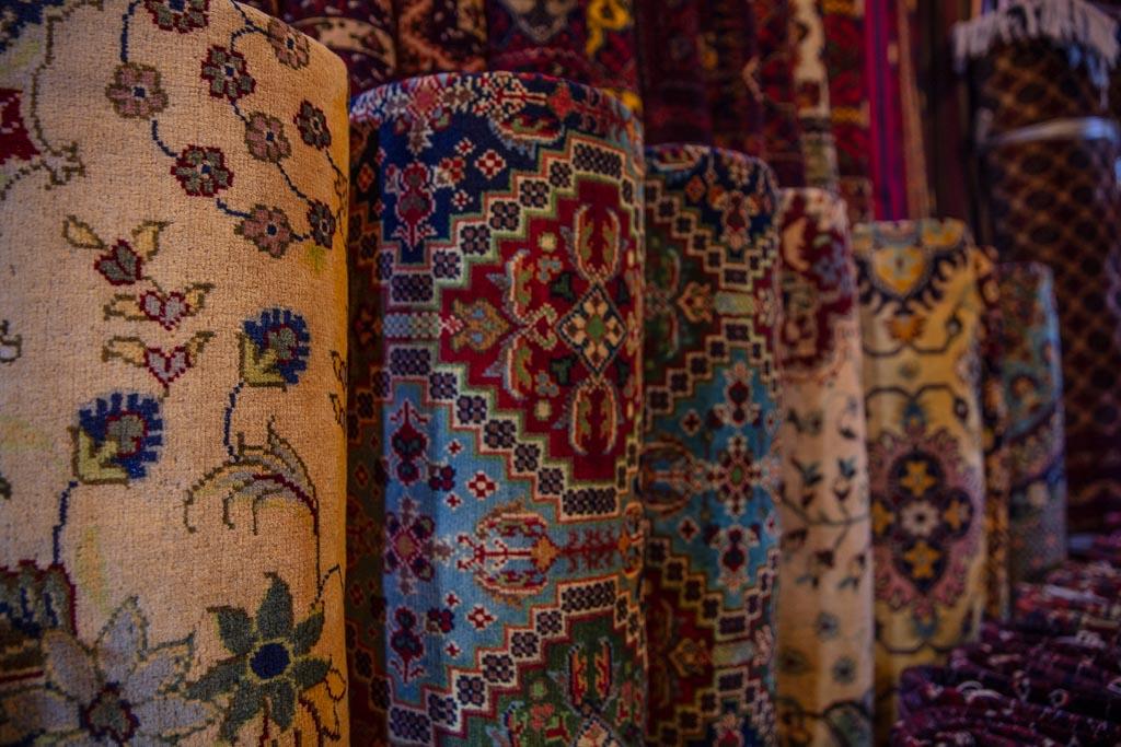 Afghan carpet, Mazar e Sharif, Mazar e Sharif Bazaar, Balkh, Afghanistan, Carpet Bazaar