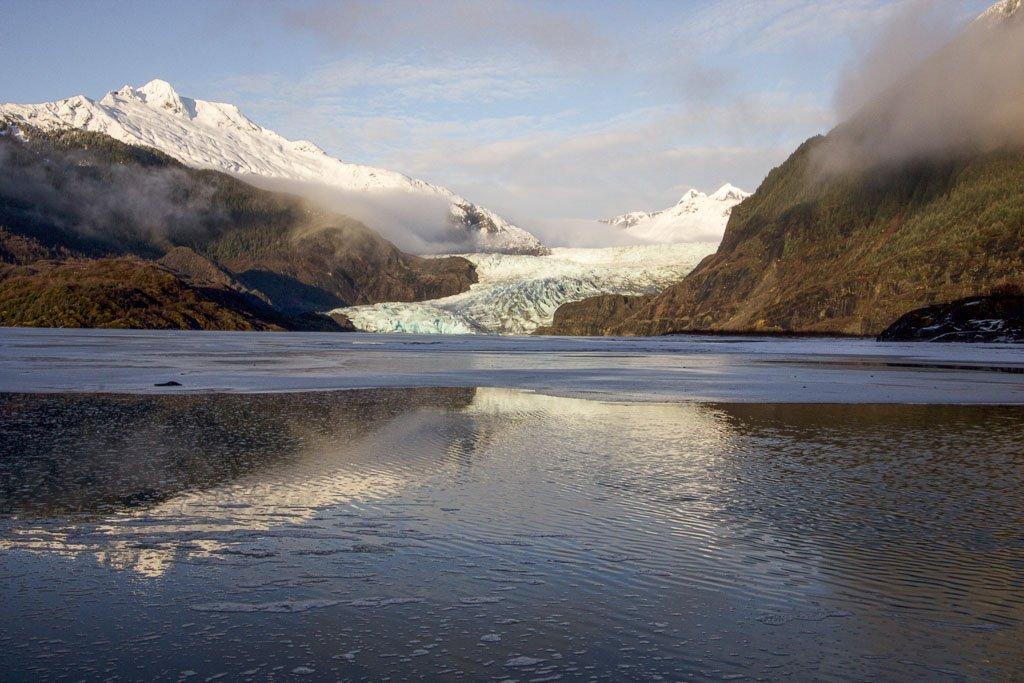 Mendenhall Glacier, Mendenhall, Juneau, Alaska, southeast Alaska, USA, Mendenhall Visitor Center