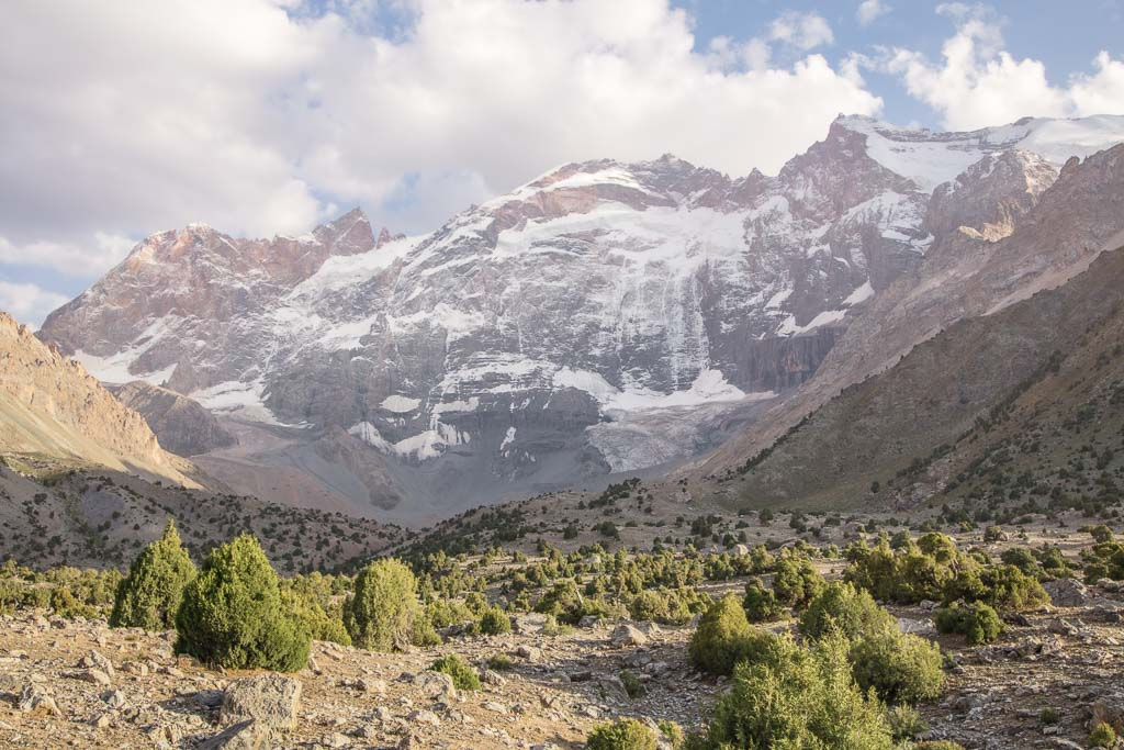 Murali, Fann Mountains, Tajikistan, Adamtash, Promejutochny, Mirali, Maria