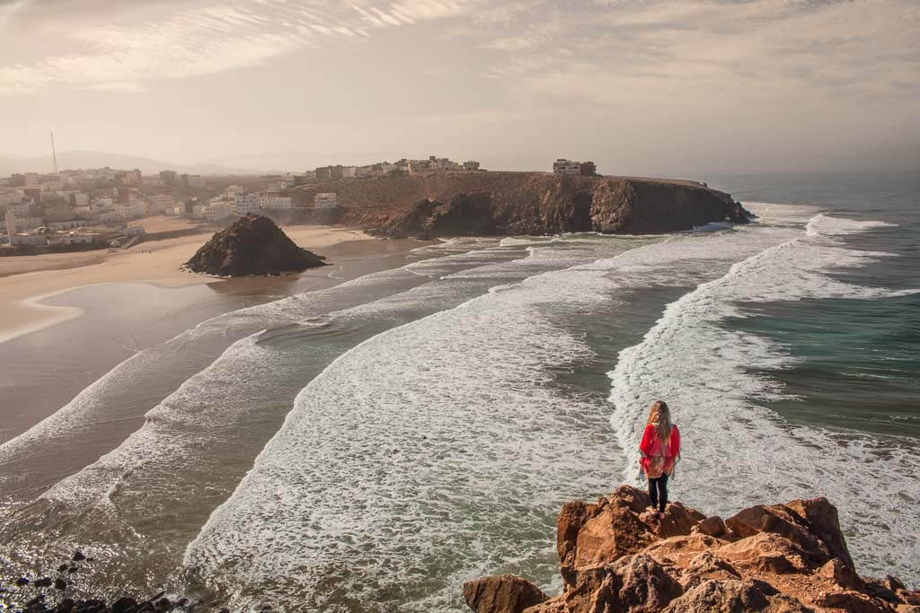 Marabout Beach, Morocco road trip, best things to do in morocco, Mirleft, Mirleft