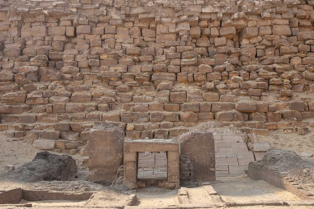Dahshur, Dahshur Pyramids, Pyramid, Egypt, Cairo, Sneferu, Bent Pyramid, Bent Pyramid temple, Mortuary Temple, Mortuary Temple Bent Pyramid, North Africa, Africa, Sahara, Egyptian Sahara