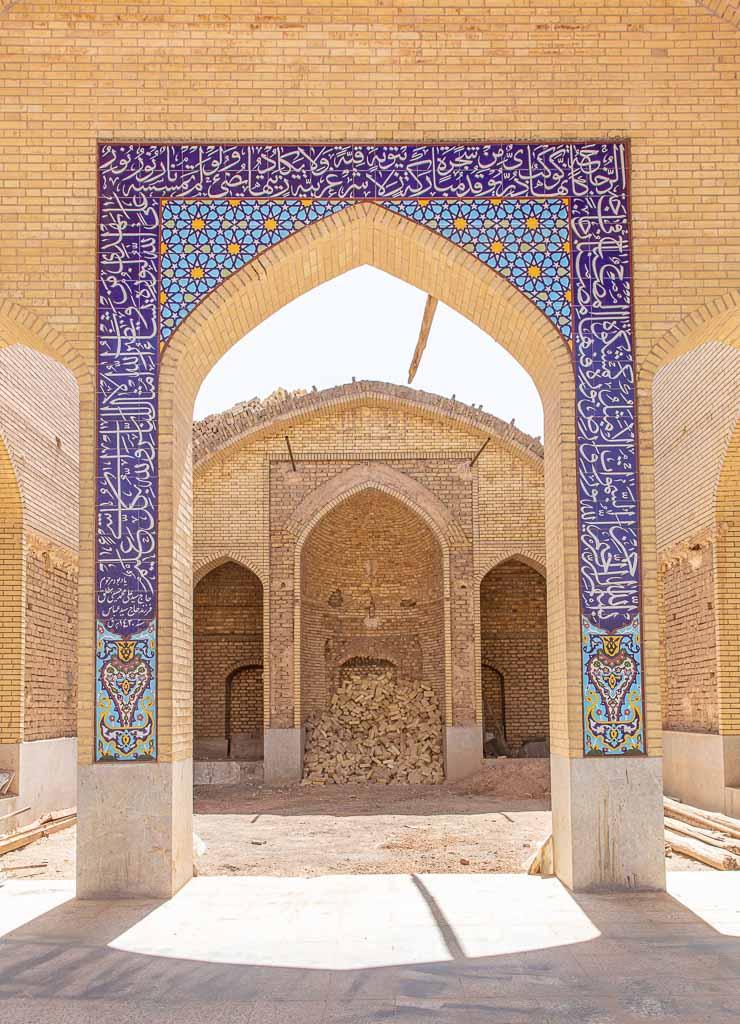 Yazd mosque, Yazd old city mosque, mosque, Yazd, Old City, Yazd Old City, Iran, Middle East, Persia