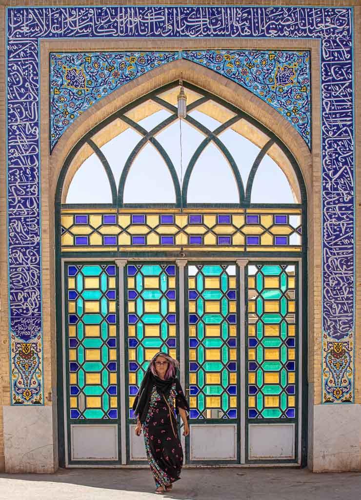 Yazd mosque, Yazd old city mosque, mosque, mosque portal, Yazd, Old City, Yazd Old City, Iran, Middle East, Persia