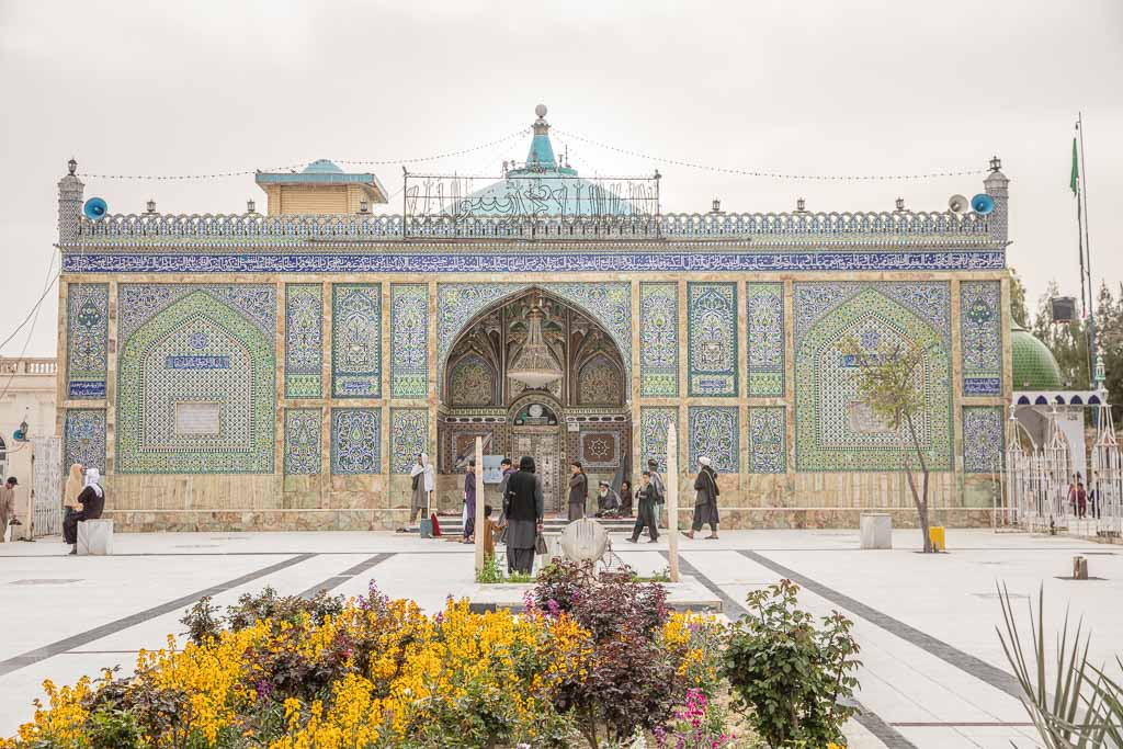 Mosque of the Cloak of Prophet Mohammed, Kandahar, Afghanistan