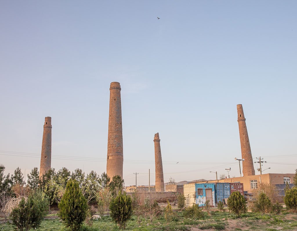 Gowarshad, Herat, Afghanistan, Musallah complex