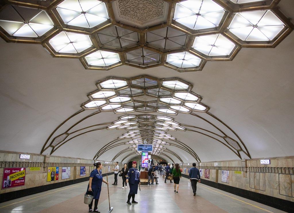 Novza Station Novza, Novza Station, Hamza Novza Station, Hamza Station, Tashkent Metro, Tashkent, Uzbekistan, Ozbekiston, Central, Asia, metro, subway, Uzbekistan metro, Uzbekistan metro