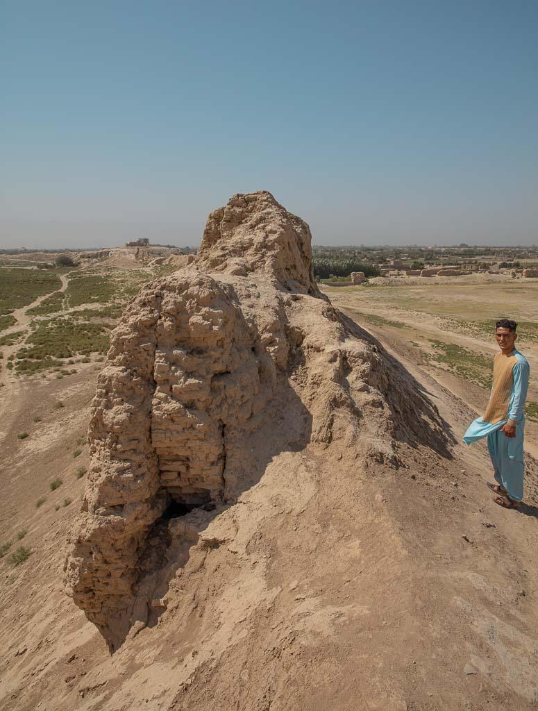 Balkh, Old Balkh, Bala Hisar, Balkh wall, Old Balkh wall, Bactria wall, Afghanistan