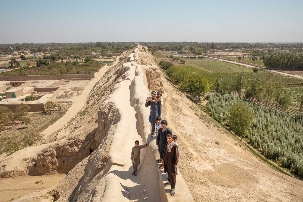 Old Balkh, Balkh, Bactria, Walls of Balkh, Balkh Walls, Ancient Bactria, Bactria Walls