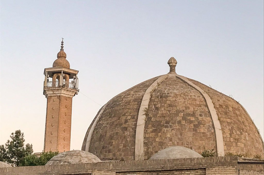 Olim Dodkho Mosque & Madrasa, Olim Dodkho Mosque, Olim Dodkho Madrasa, Olim Dodkho, Panjakent, Penjikent, Tajikistan, Central Asia, Sughd, Sogdiana, Sogdia