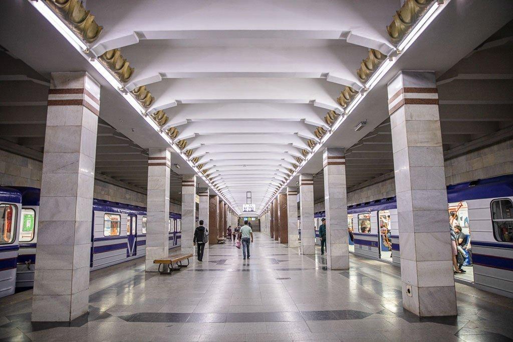 Olmazor, Olmazor Station, Sobir Raximov Station, Sobir Raximov, Tashkent Metro, Tashkent, Uzbekistan, Ozbekiston, Central, Asia, metro, subway, Uzbekistan metro, Uzbekistan metro