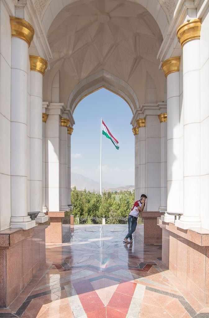 Dushanbe, Dushanbe Guide, Dushanbe City Guide, Dushanbe Travel Guide, Parchan, Bayrak, world's tallest flagpole, Rudaki, Rudaki Park, Bag-i-Rudaki