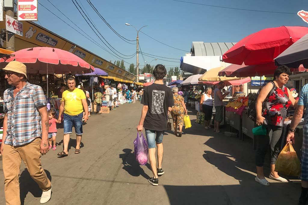 Piata Centrala, Central Market Chisinau, Chisinau, Moldova