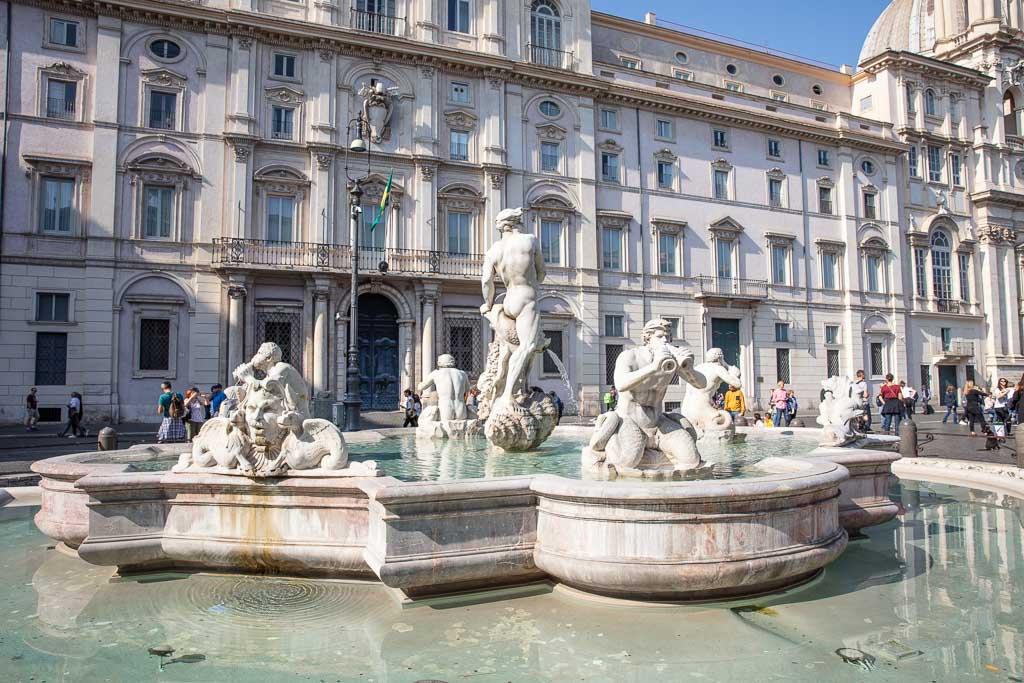 Piazze Navona, Italy, Rome, Navona