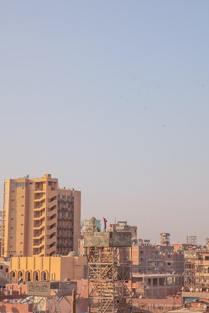 Pigeon towers, Pigeon houses, Garbage City, Manshiyat Nasser, Zabbaleen, Coptic Christian, Coptic Cairo, Cairo, Egypt, North Africa, Africa