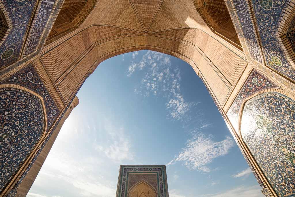 Po i Kalon, Bukhara, Uzbekistan, Kalon Mosque