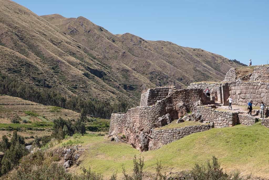 Pukapukara, Pucapucara, Tambomachay to Cusco walk, Peru, Cusco, Sacred Valley, Inca