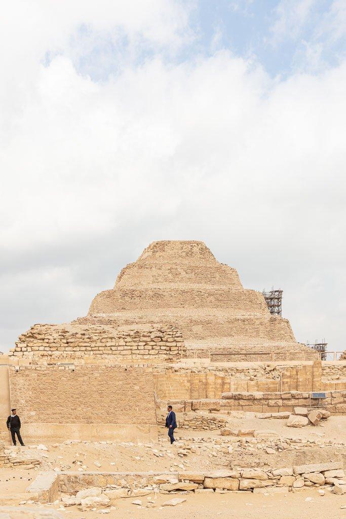 Step Pyramid of Djoser, Saqqara, Cairo, Egypt, North Africa, Africa
