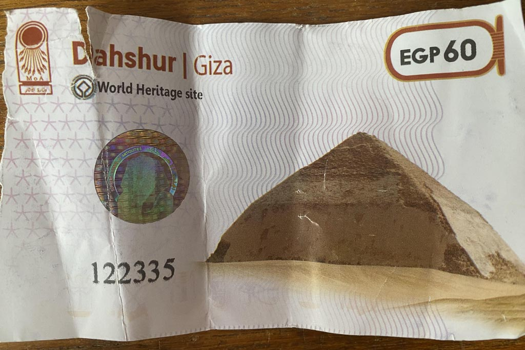 Dahshur Entrance Ticket