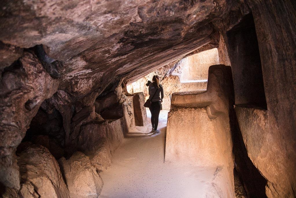 Q'enqo, Q'enko, Tambomachay to Cusco walk, Cusco, Inca, Sacred Valley, Peru