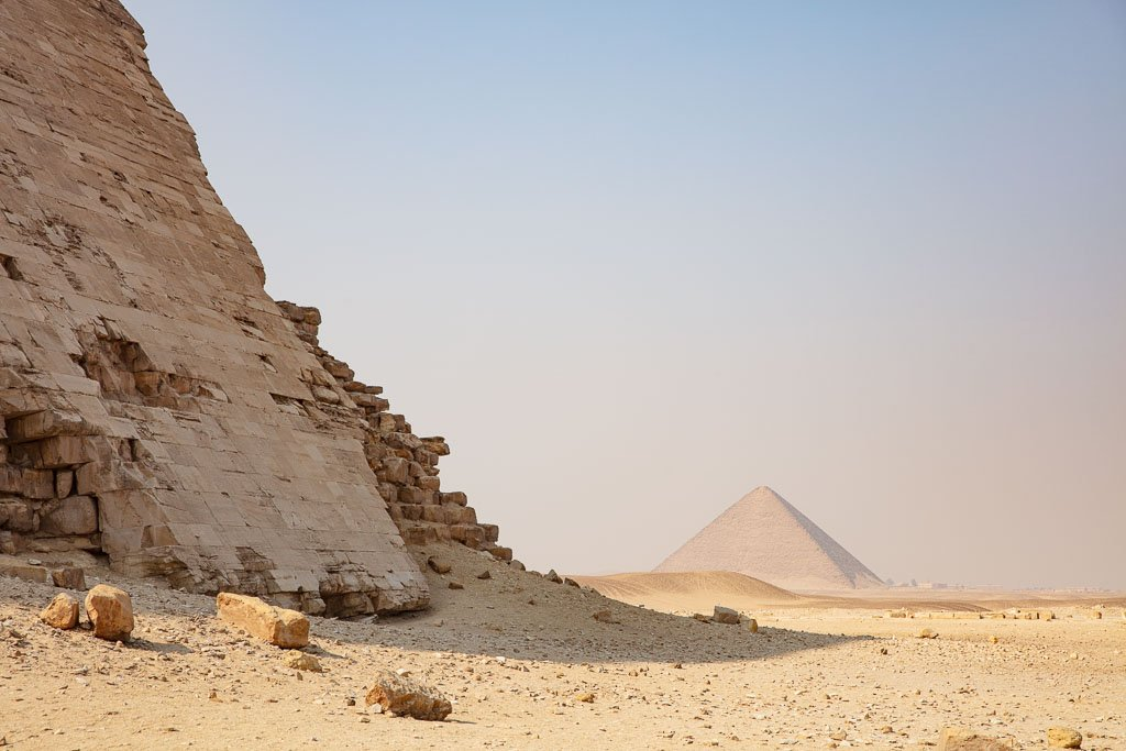 Dahshur, Dahshur Pyramids, Pyramid, Egypt, Cairo, red Pyramid, North Pyramid, Sneferu, Bent Pyramid, , North Africa, Africa, Sahara, Egyptian Sahara