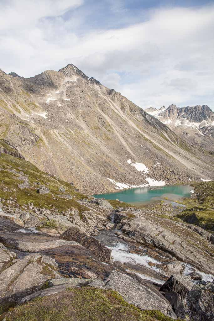 Reed Lakes waterfall, Reed Lakes, Reed Lakes Hike, Reed Lakes Alaska, Hatcher Pass, Alaska
