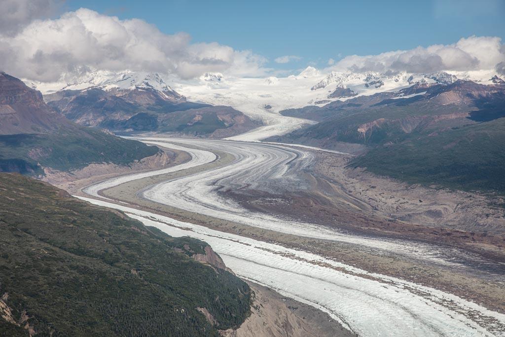 McCarthy, Kennicott, Wrangell St Elias, Root Glacier, Alaska