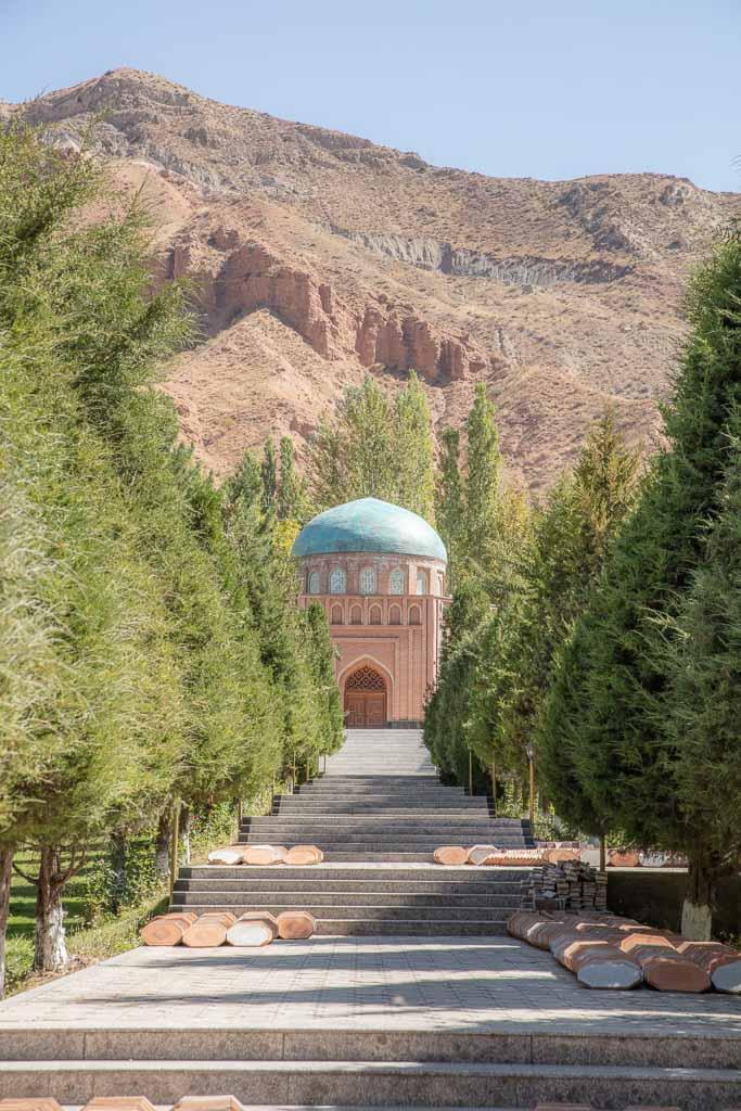Panjrud, Rudaki Mausoleum, Panjakent day trip, Sughd