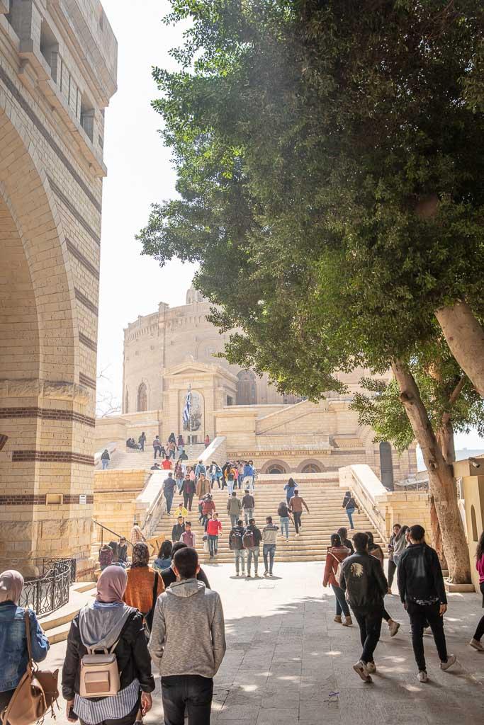 Saints Sergius and Bacchus Church, Abu Sega Church, Coptic Church, Coptic Cairo, Cairo, Egypt, North Africa, Africa