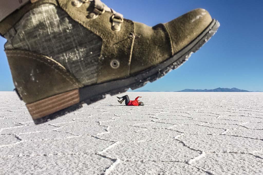 Salar De Uyuni, Salar De Uyuni tips, forced perspective, Salar tips, Bolivia