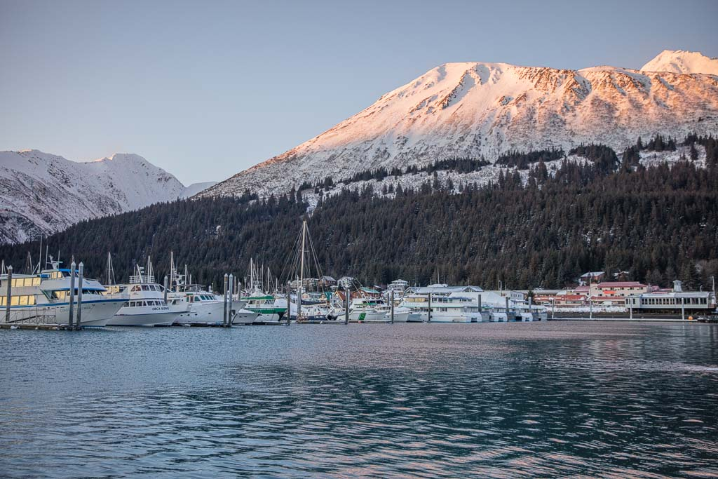 Seward Harbor, Seward Marina, Seward Harbor Marina, Seward, Kenai Peninsula, Alaska, resurrection bay