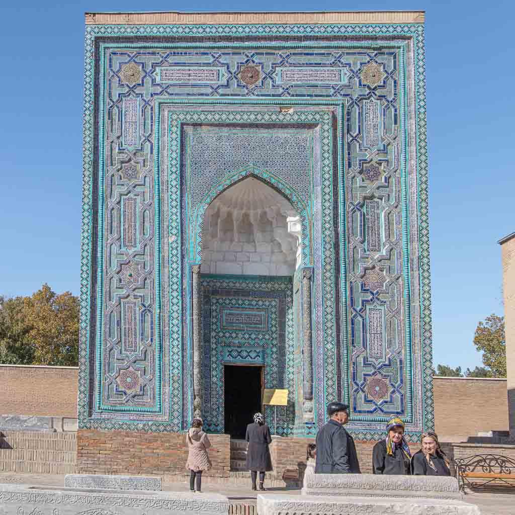 Uzbekistan, Uzbekistan travel guide, Uzbekistan travel, Uzbekistan guide, Samarkand, Shah-i-Zinda, Shah i Zinda, Usto Ali Nesefi Mausoleum