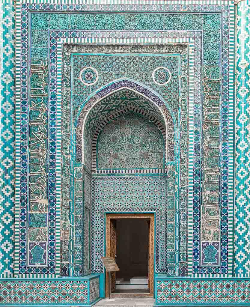 Shah i Zinda, Shah i Zinda Ensemble, Samarkand, Uzbekistan