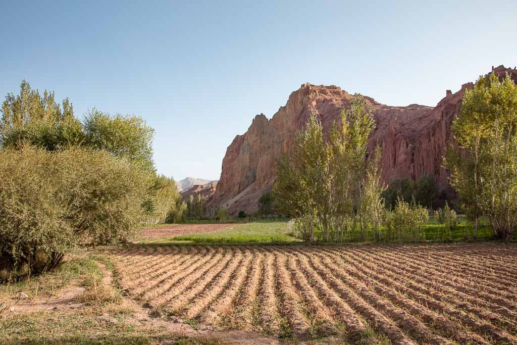 Shahr e Zohak, Red City, Bamyan, Afghanistan