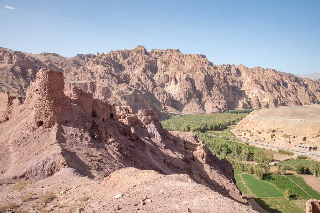 Shahr e Zohak, Red City, Red City Bamyan, Bamyan, Bamyan Valley, Hazararajat, Central Afghanistan, Afghanistan, Afghanistan Travel, Afghanistan Travel Guide,