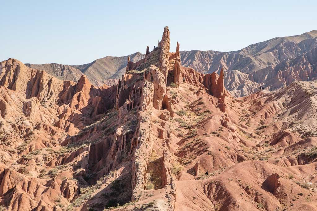 Skazka, Skazka Canyon, Fariytale Canyon, Fairtale Canyon Kyrgyzstan, Kyrgyzstan, Issykul