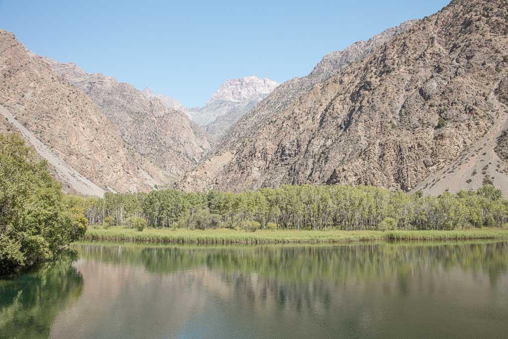 Snake Lake, Zmenioe Lake, Tajikistan, Fann Mountains