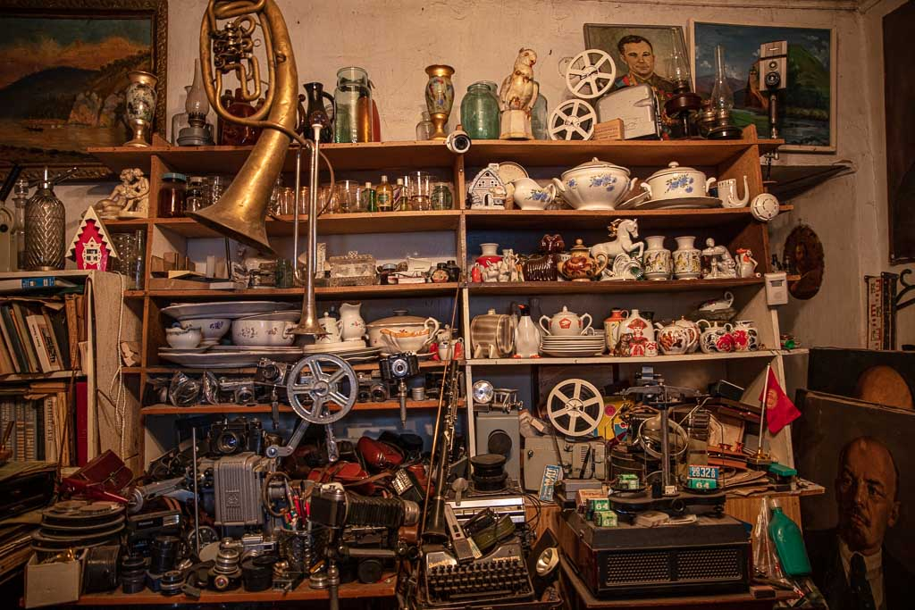Soviet Antique Shop, Soviet Antique Shop Karakol, Karakol, Kyr