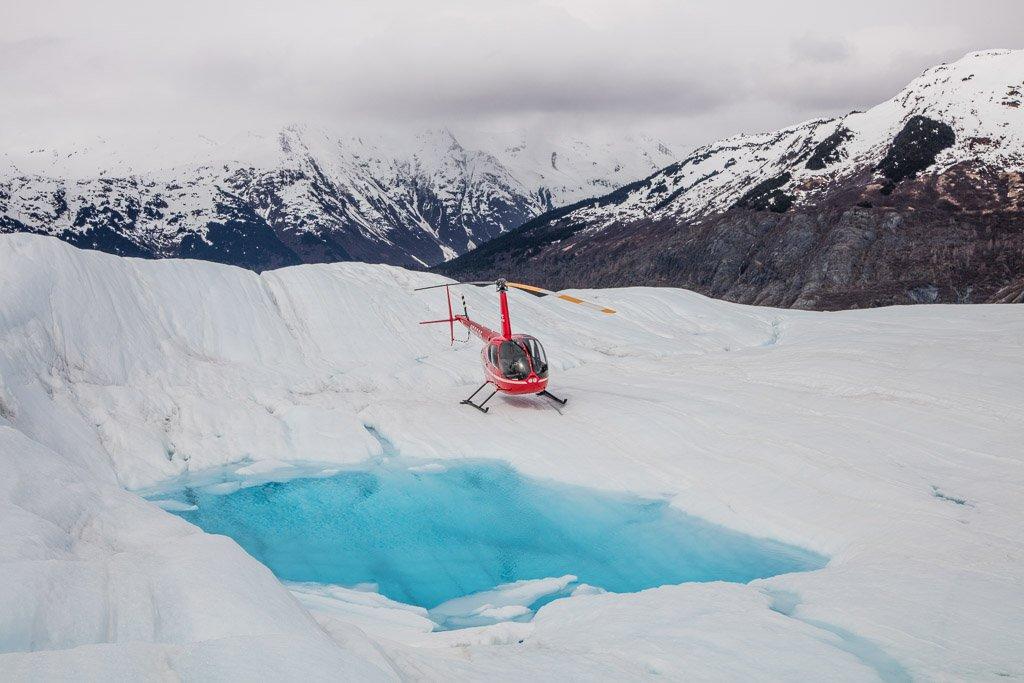 helicopter tour, glacier helicopter, helicopter glacier, Spencer Glacier, Alaska