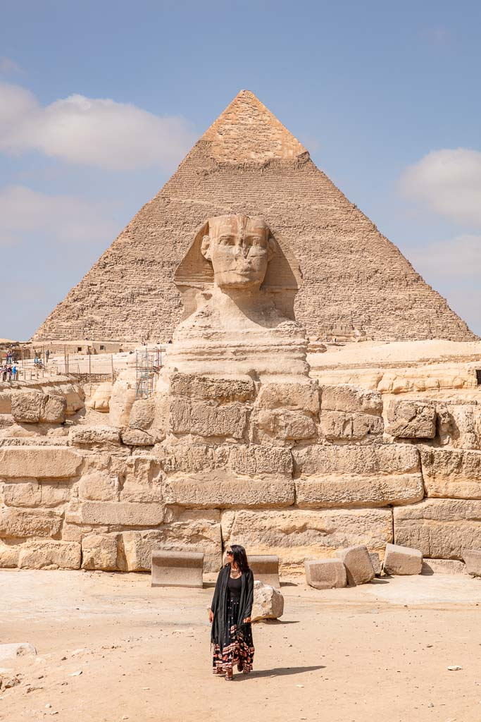 Adventures of Nicole, Adventures of Lil Nicki, Pyramids of Giza, Giza Pyramids, Khafre, Khafre Pyramid, Sphynx, Sphinx, Giza, Cairo, Egypt