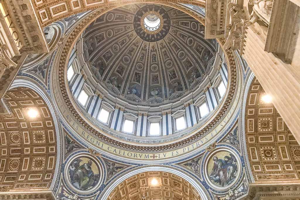 St Peter's Basilica, Rome, Italy, Vatican, Vatican City