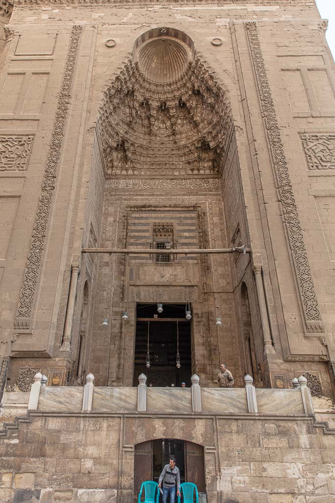 Sultan Hassan Mosque, Cairo, Egypt, Islamic Cairo, North Africa, Africa