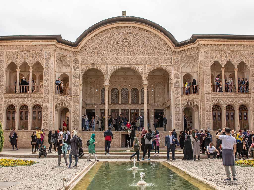 Tabatabaei House, Tabatabaei House Kashan, Kashan Historic Houses, Kashan, Iran