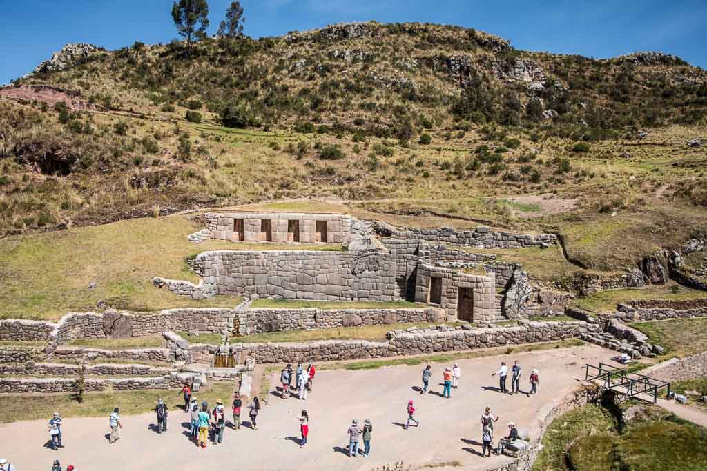 Tambomachay, Tambomachay to Cusco walk, Peru, Sacred Valley, Cusco