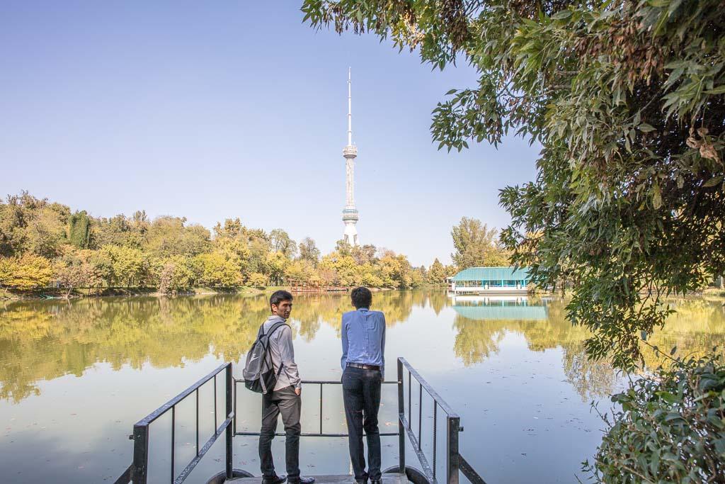 Taskhent Tower, Tashkent TV tower, Tashkent, Uzbekistan, Central Asia
