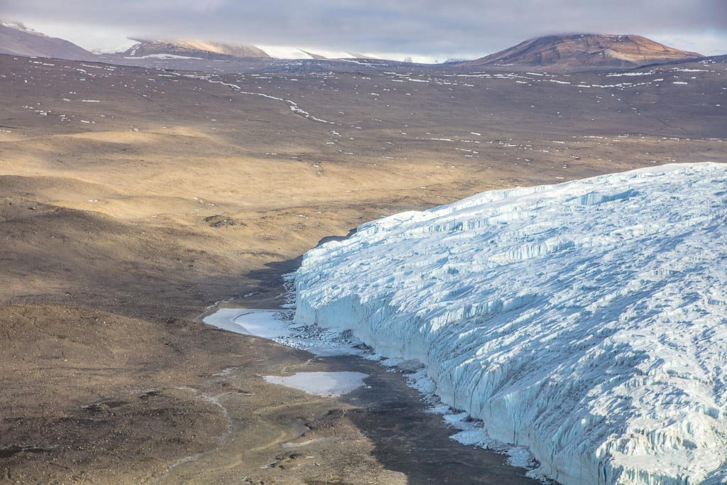 Taylor Dry Valley, Taylor Glacier, McMurdo Dry Valleys, Antarctica