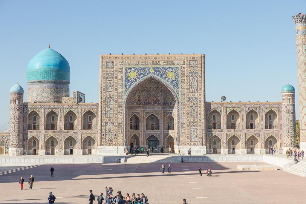Samarkand Travel, Uzbekistan, Uzbekistan travel guide, Uzbekistan travel, Uzbekistan guide, Samarkand, Registan, Registan Square, Tilla Kari, Tilla Kari Mosque